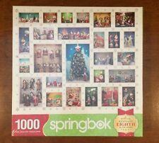 Springbok SANTA'S WORLD 10000-Pc Hallmark Keepsake Ornament Christmas Puzzle