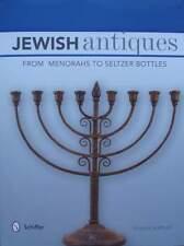 LIVRE/BOOK : ANTIQUITES JUIVES (bouteilles Seltzer,candélabre,jewish antiques