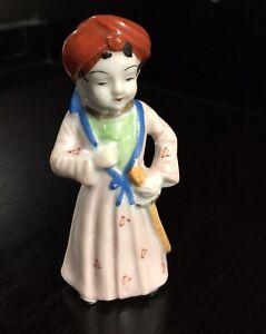1920's NIPPON TOKI KASHA CO. (Noritake Co.) Sikh Guru Figurine Turban & Kirpan