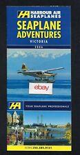 Harbour Air Seaplanes Turbo Otter Seaplane & Beaver Adventures Brochure 2006