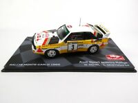 Audi Sport Quattro Rallye Monte Carlo 1985 Röhrl 1:43 MODELLAUTO RB5