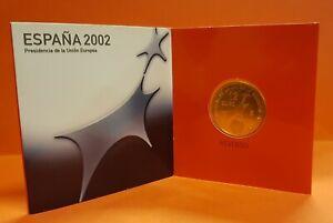 CARTERA FNMT 12 EUROS 2002 PLATA PRESIDENCIA ESPAÑOLA DE LA U.E. SC España