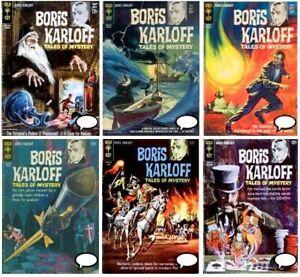 Boris Karloff Tales of Mystery #1-97 GOLD KEY comics Complete Run Digital 1962