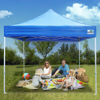 Commercial Outdoor Ez Pop Up Canopy 10x10 Folding Patio Shade Wedding Party Tent