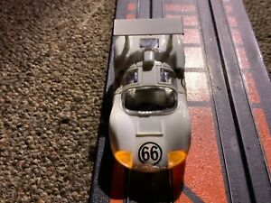 TYCO PRO LIGHTED CHASSIS CHAPARRAL VERY CONDITION STRAIGHT LINE TESTED…NICE…😎