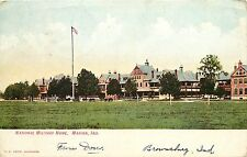1901-1907 Postcard; National Military Home, Marion IN Grant County Posted