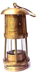 Antique Brass Nautical Miner Oil Ship Lantern Maritime Lamp Home Decor