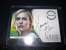 THE 4400 AUTHENTIC AUTOGRAPH LAURA ALLEN A-5 LILY MOORE MINT AUTO CARD
