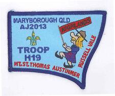AJ2013 - AUSTRALIA SCOUT NATIONAL JAMBOREE - TROOP H19 SCOUTS BADGE
