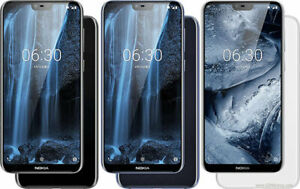 NEW Sealed Box Nokia 6.1 Plus (Nokia X6)  Unlocked 4G RAM+64GB Dual Sim 4G LTE