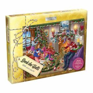 Waddingtons Deck the Halls 1000 Piece Christmas Jigsaw Puzzle NEW