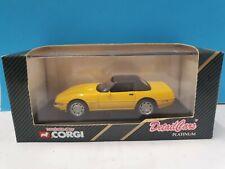 Corgi Detail Cars 1:43 ART 212 Chevrolet Corvette ZR1 softtop 96638 yellow