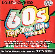 60s & 70s TOP TEN HITS: PROMO 2 CD SET / SUPREMES, ISLEY BROTHERS, THIRD WORLD