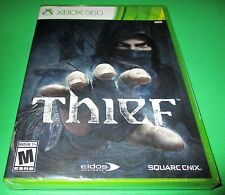 Thief Xbox 360  w/ Bonus -The Bank Heist DLC! *Factory Sealed! *Free Shipping!