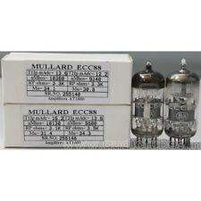 1MP ECC88 6DJ8  Mullard made in Great Britain Amplitrex tested#255140&148