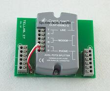 PCB Scheda Derivazione Telefoni per Splitter ADSL & VDSL 6 uscite telefoniche