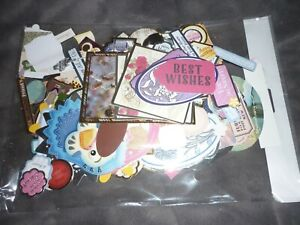 (B) HUGE AMOUNT LOOSE EVERYDAY DIE-CUTS MOSTLY HUNKYDORY & KANBAN CRAFT CLEAROUT