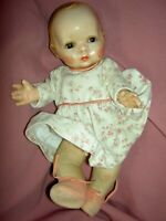 Rare antique, Lenci Prosperity Baby doll, jointed cloth,celuloid lovely features