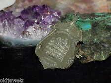 Mason 1875 Masonic Temple New York Medallion Medal Badge Silver Shield Design