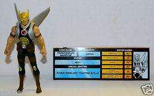 2008 Mattel DC Universe Infinite Heroes Crisis THANAGARIAN WARRIOR C9+ w Bio
