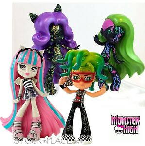 MONSTER HIGH Boxed / Unopened  COLLECTABLE 10cm VINYL FIGURES Free UK Postage