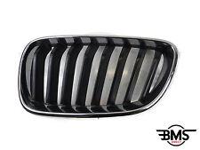 ORIGINAL BMW 2 SERIE N/S DELANTERO REJILLA Estilo Riñón Negro F22 F23