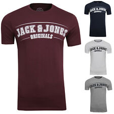 JACK & JONES Herren T-Shirt Traffic Tee Crew Neck