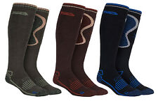 Storm Bloc - Mens Knee High Extra Long Wool Warm Thermal Hiking Work Boot Socks