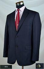 bdf38faf HUGO BOSS Two Button Regular Jacket Striped Suits for Men for sale ...