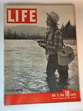 Life Magazine May 13 1946 Pacific Northwest Wild Horse Bob Crosby Herman Keiser
