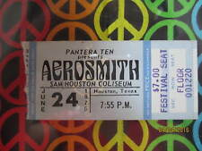 Dazed and Confused DVD, Houston Aerosmith Concert Ticket, Memorabilia
