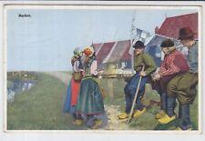 AK Marken, Leute in Tracht 1929