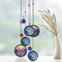 """Tree of Life 17"""" Wind Chime Metal Hanging Ornament Garden Outdoor Home Decor"""