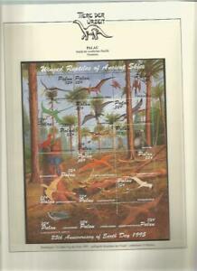 81560/ Dinosaurier Fauna Tiere ** MNH OHNE VORDRUCK PALAU