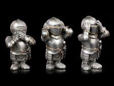 tres pequeñas CABALLERO FIGURAS - NADA MALO - BONITOS CABALLEROS Figuras Regalo