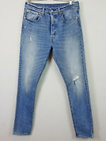 LEVI'S | Womens 501 Distressed Skinny Jeans W30L32 [ Size AU 12 or US 30 ]