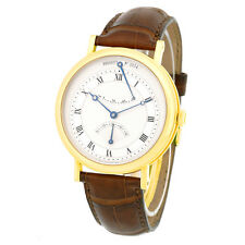 BREGUET 18K Yellow Gold 39mm Classique Retrograde Seconds 5207BA Box Warranty