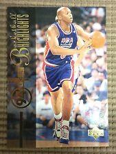 Derrick Coleman 1994 Upper Deck USA NBA Basketball Insert Highlights Card