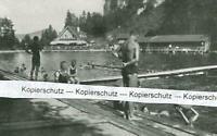 Füssen : Im Naturbad : Nichtschwimmer - um 1925          V 13-2