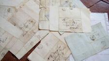 Accessoires et pièces détachées militaires de collection napoléoniques (premier et second empire) documents
