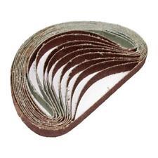 10x Schleifbänder für Druckluft Bandschleifer Korn 120