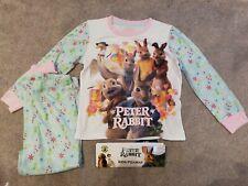 Peter Rabbit Girls Pyjamas Age 5-6