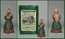 """King & Country World of Dickens """"D022 - Lady With Muff""""  **S6**"""