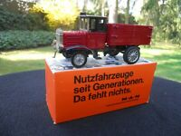 ZISS MODELL EURO -MODELL GERMANY CAMION HENSCHEL 1926 ROUGE & NOIR