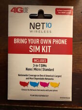 NET10 NANO SIM CARD UNLIMITED AT&T $35 MONTH !!!