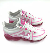 NIKE WOMENS Shoes Air VaporMax 2019 Size US 10 | Summit White Pink