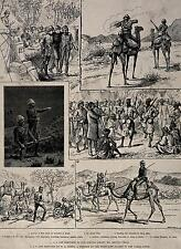 British Empire Sudan Africa Army Camels Troops Natives 7x5 Inch Print R