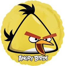 """ANGRY BIRDS BALLOON 17"""" YELLOW BIRD ANGRY BIRDS PARTY SUPPLIES ANAGRAM BALLOON"""