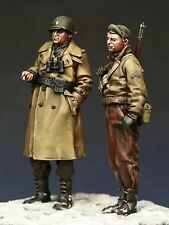 1/35 Scale Resin Figures WWII American Officers (2 Figures)