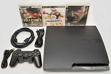Sony Playstation 3 Slim 320gb Game Console System PS3 Bundle Metal Gear Solid 4